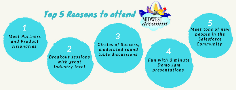Top 5 reasons to attend Midwest Dreamin