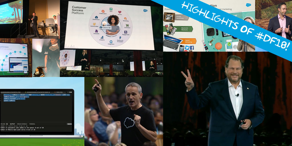 Top 8 Highlights of Dreamforce 2018