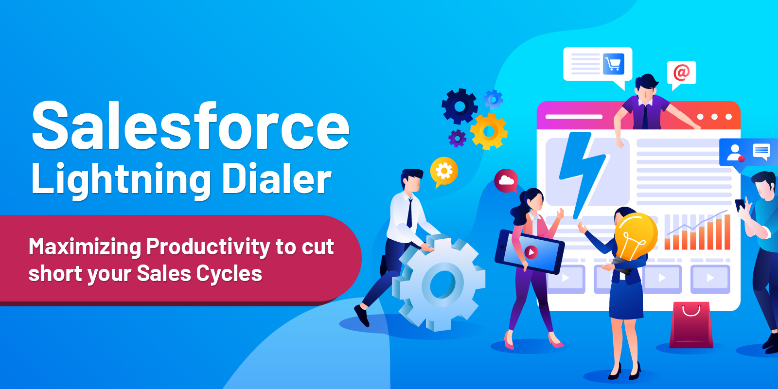 Salesforce Lightning Dialer | Boost Sales productivity by making hassle-free calls