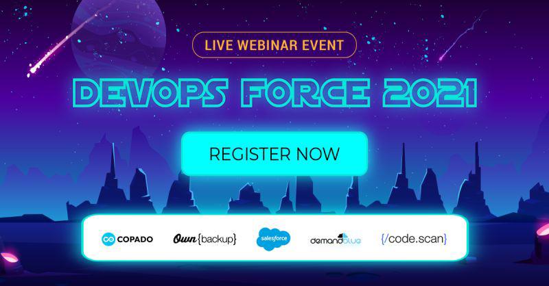 The Salesforce DevOps webinar is here!