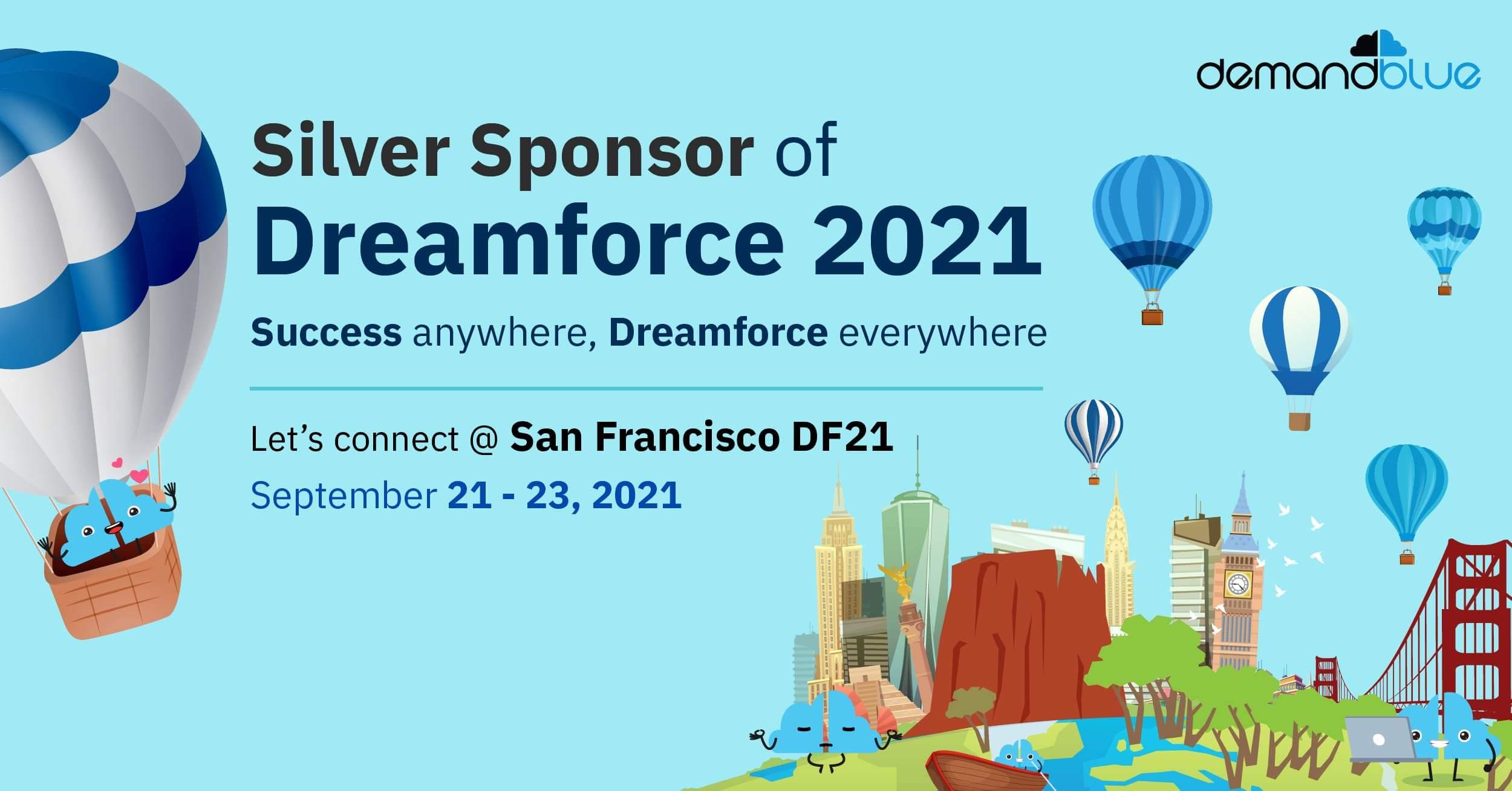 Dreamforce 2021 – The Global Salesforce event | Meet DemandBlue