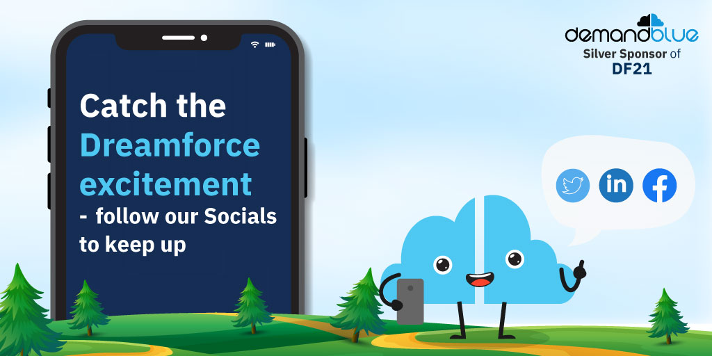 Catch the Dreamforce excitement – follow our Socials to keep up